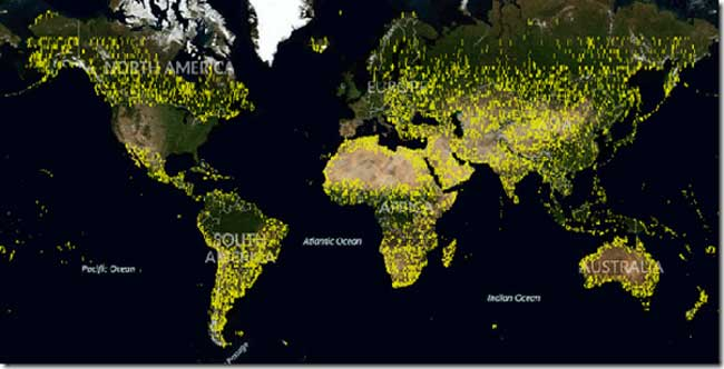 Bing Maps Gets Terabytes Of New Imagery Data Geeky Gadgets - Microsoft satellite maps