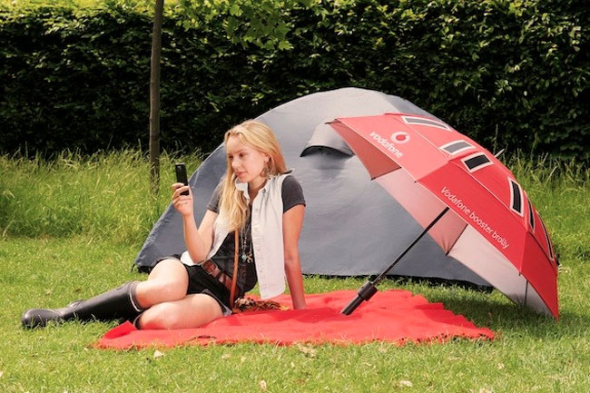 booster brolly