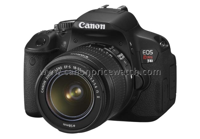 Canon Eos Rebel T4i Photo Leaked