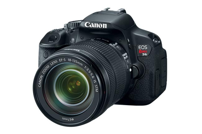 Canon EOS Rebel T4i DSLR Gets Official