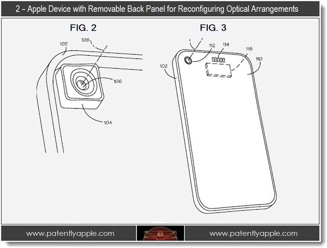 Swappable iPhone Camera Lenses