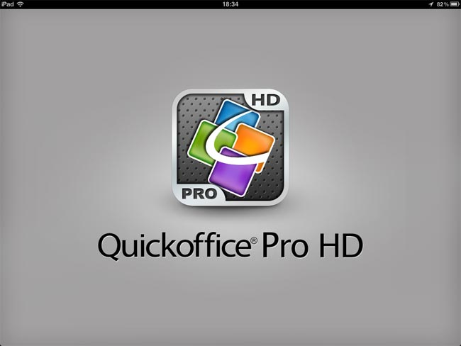 Quickoffice iPad
