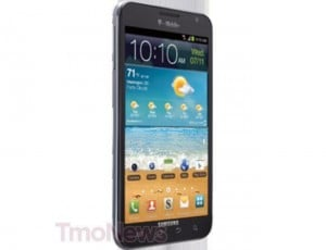 T-Mobile Samsung Galaxy Note Press Photos Leaked