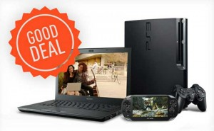 Sony Offers Free PS3 or PS Vita with Notebook Purchase