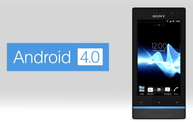Xperia S Android 4.0