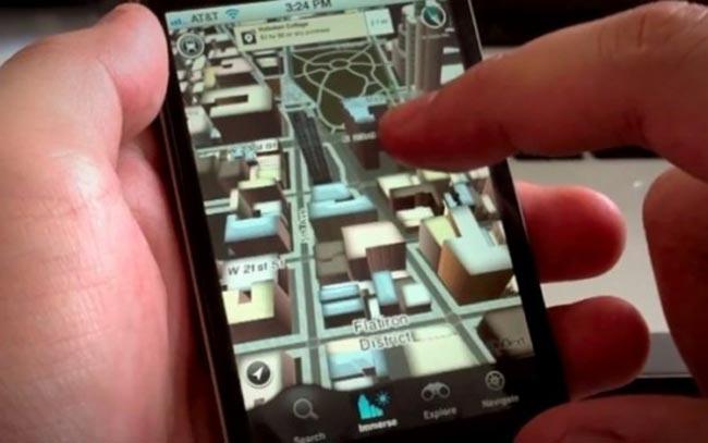 Amazon 3D maps