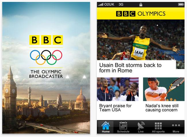 BBC Olympic App
