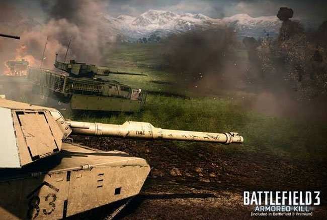 Battlefield 3 Armoured Kill DLC