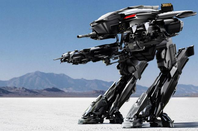 ED-209 Robocop 2013