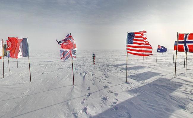 Google Antarctica