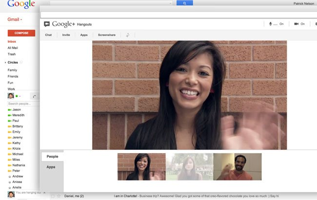 Google+ Hangouts To Gmail