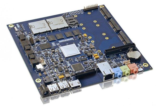Kontron Tegra 3 Mini-ITX motherboard