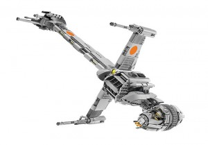 Star Wars Official Lego B-Wing Starfighter Unveiled (video)