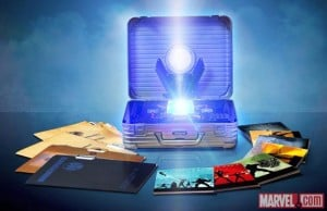 Marvel Cinematic Universe 10 Disk Blu-ray Box Launches With Glowing Tesseract (video)