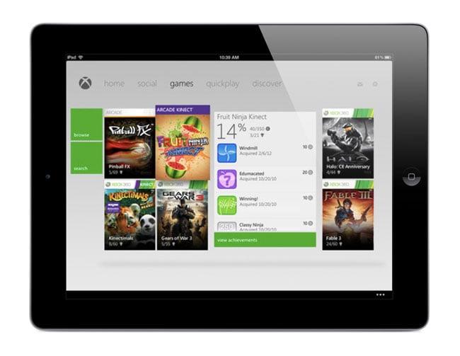 My Xbox Live iPad App