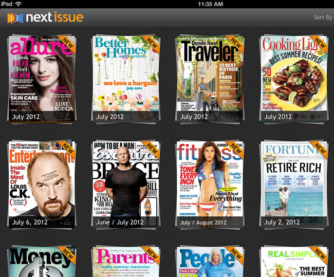 Next Issue iPad App