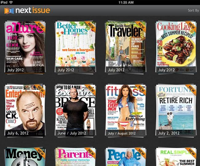 Next Issue iPad App