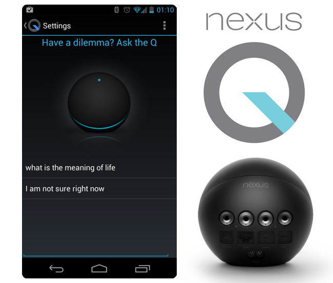 Nexus Q Magic 8 Ball