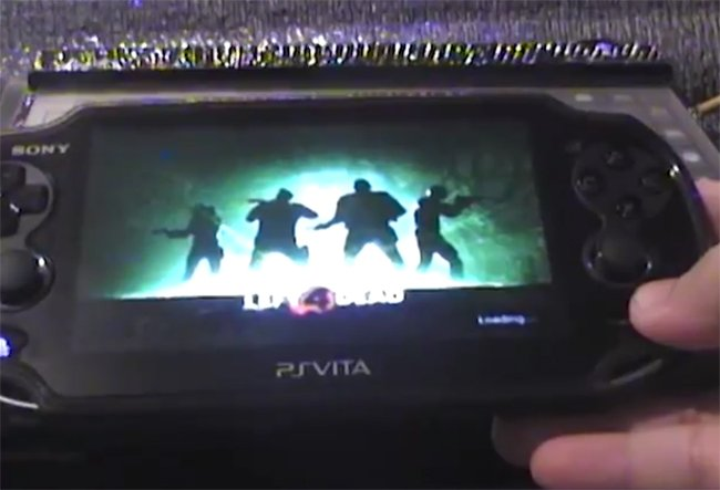 Left 4 Dead On Ps Vita Looks Awesome Video