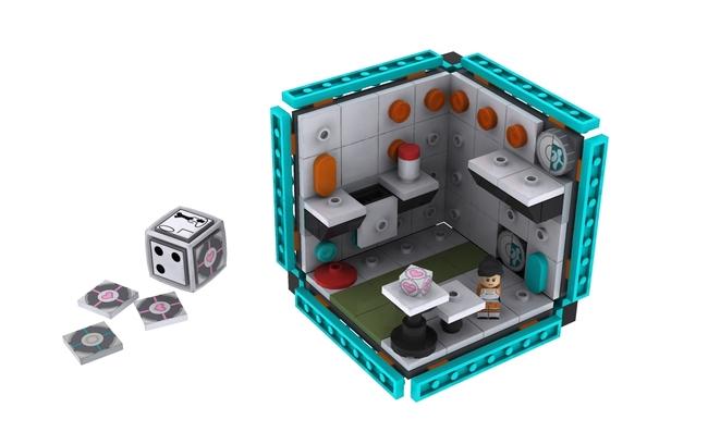 Portal 2 Lego Kit