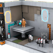 Portal 2 Lego Concepts Hoping To Become Official Lego Products