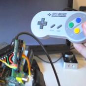 Raspberry Pi SNES Gaming Console Mod (video)