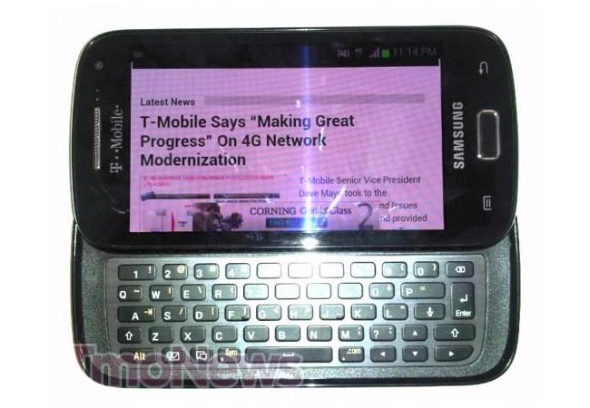 Samsung Galaxy S Blaze Q Qwerty Android 4.0 Smartphone Headed To T-Mobile