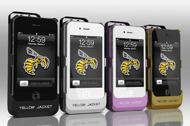iPhone Stun Gun Case By Yellow Jacket