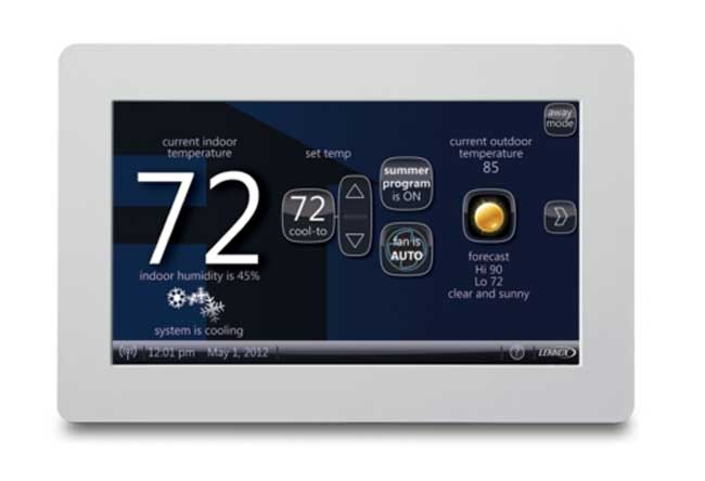 Icomfort Thermostat From Lennox Helps You Save Power