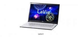 NEC LaVie Z Lays Claim the World's Lightest Ultrabook Title