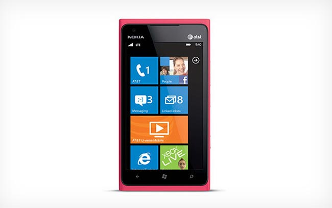 Pink Nokia Lumia 900 For AT&T Announced