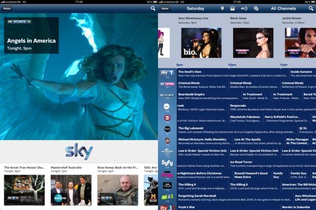 Sky iPad