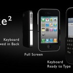 Spike case with QWERTY keyboard for the iPhone