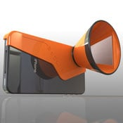 3DCone Stereoscopic iPhone Camera Adapter (video)