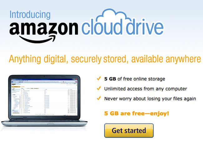 Amazon Cloud Drive UK