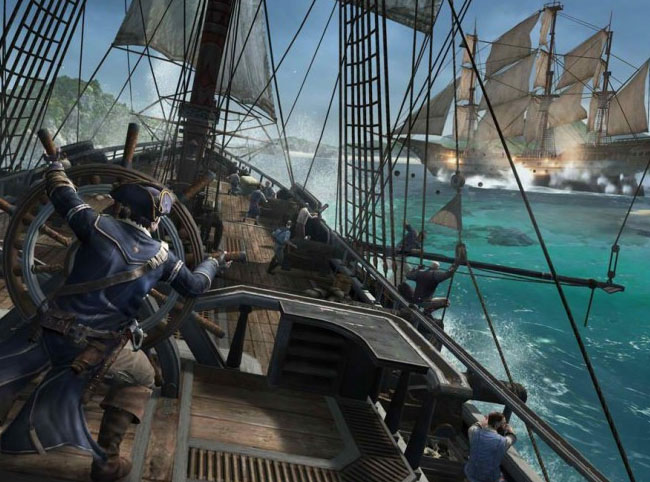 Assassin's Creed 3 Naval Trailer