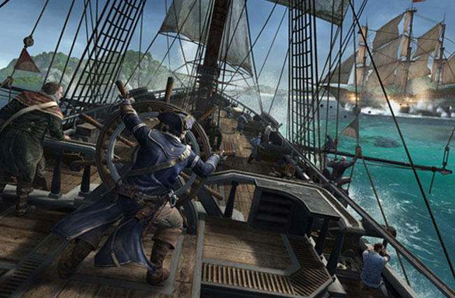 Assassin's Creed III Naval Warfare
