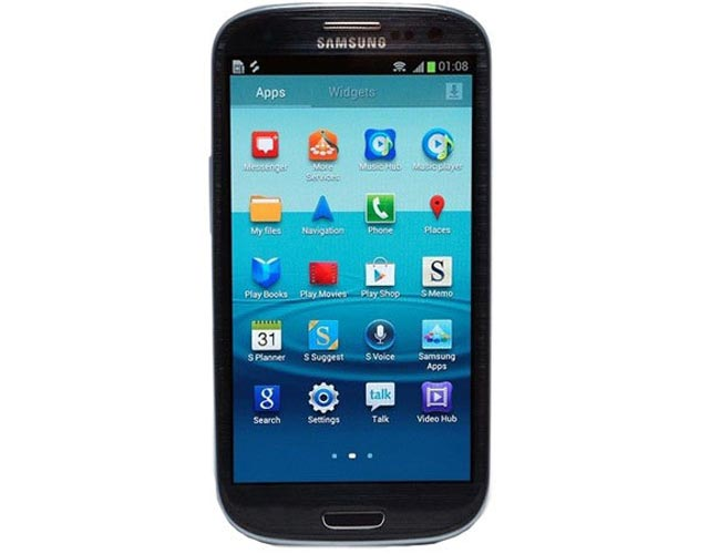 Black Samsung S3