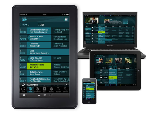 Cablevision Optimum TV Streaming App Kindle Fire
