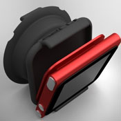 Clipy iPod Nano Earbud Organiser And Stand