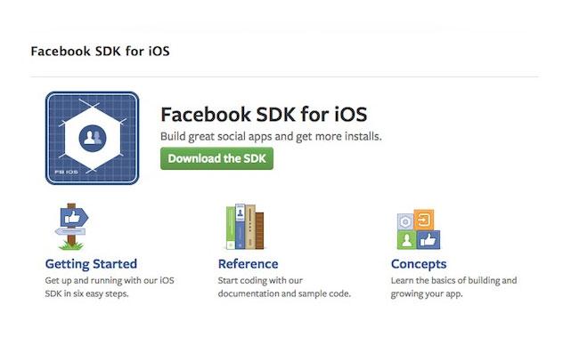 Facebook iOS SDK 3.0