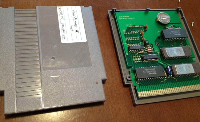 Final Fantasy II Cartridge