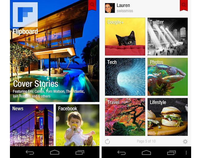 Flipboard for Android