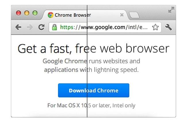 Google Chrome Retina Support