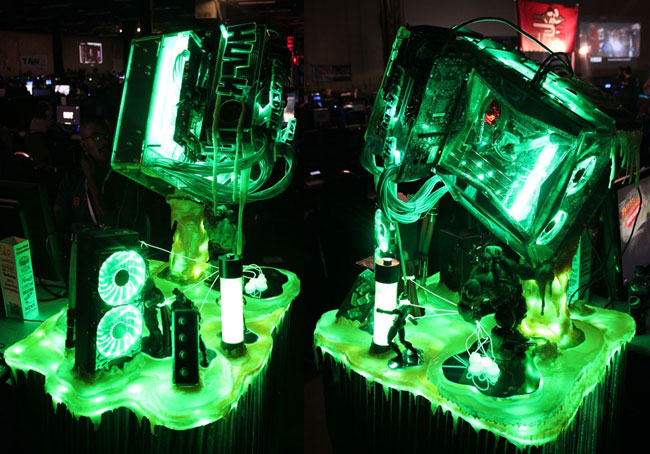 Awesome Incredible Hulk Avengers Case Mod From Quakecon