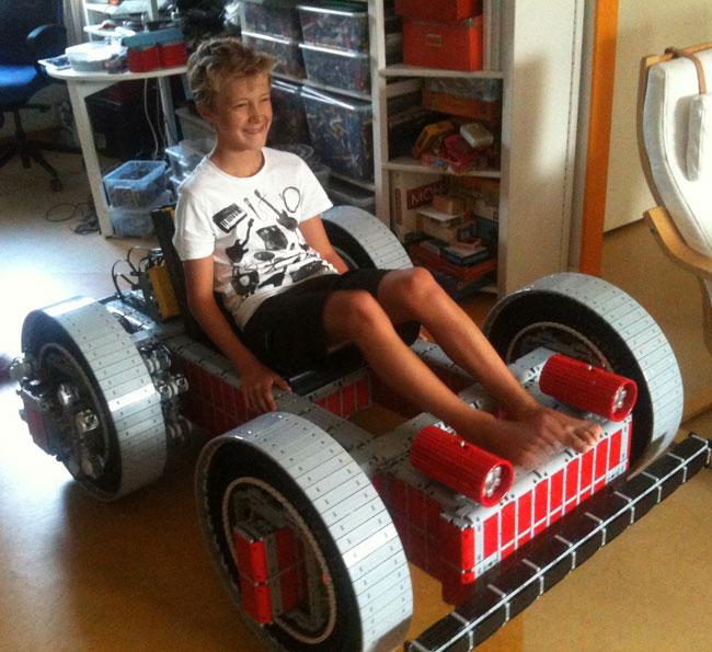 Lego Go Cart