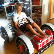 Life-size Lego Mindstorm Powered Go-Cart Is Awesome (video)