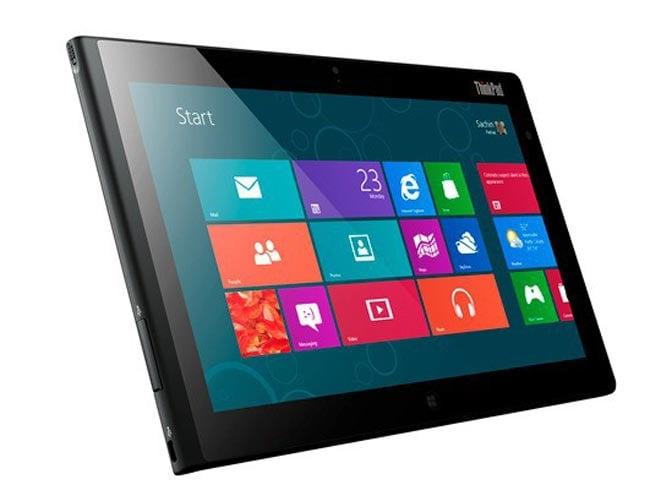 Lenovo ThinkPad 2 Windows 8 Tablet Announced
