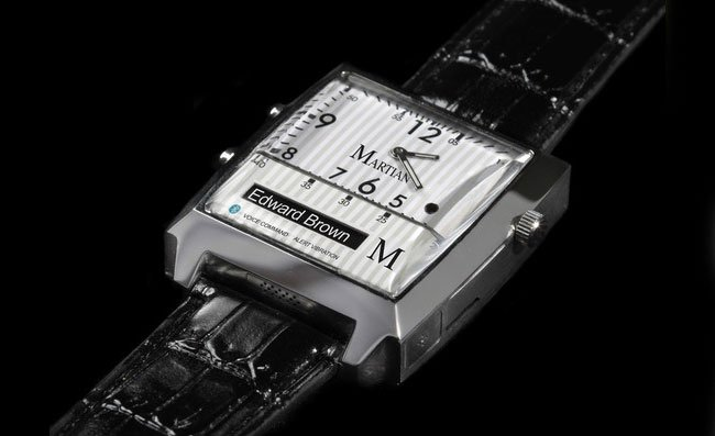Martian The Worlds First Voice Command Watch
