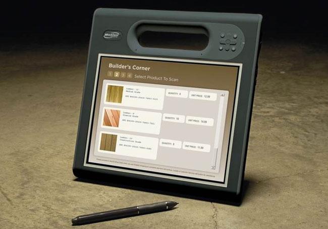 Motion F5t C5t rugged tablet PCs